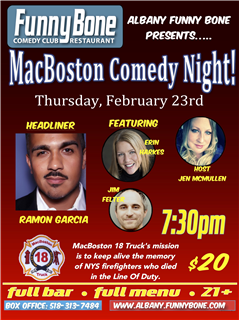 MacBoston Comedy Night