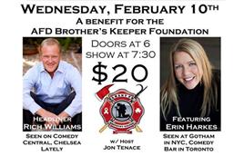 AFD Brothers Keeper Foundation Benefit
