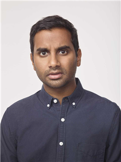 Aziz Ansari working out new material