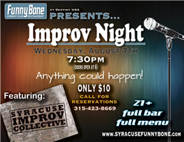 Improv Night w/ Syracuse Improv Collective