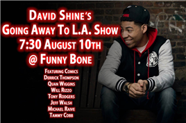 Dave Shines Going Away to L.A. Show